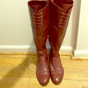 Leather boots by Isaac Mizrahi